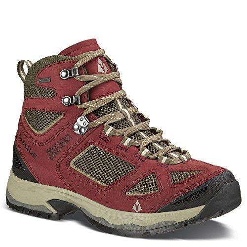 Vasque Breeze III GTX Hiking Boot - Women's Red/Brown Olive, 12.0