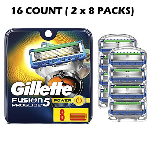 Fusion ProGlide Power Refill Razor Replacement Cartridges 16 Count
