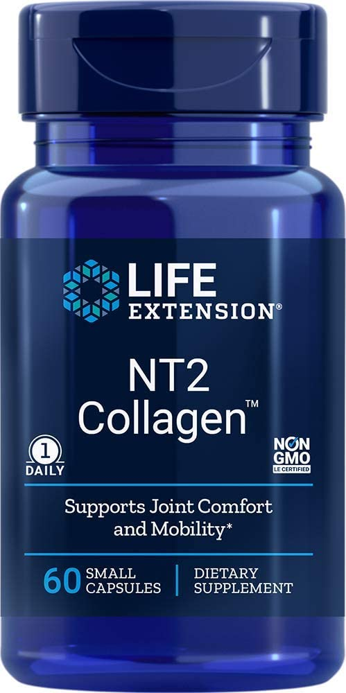 Uc-ii Nt2 40mg - Colágeno Tipo 2 - Life Extension