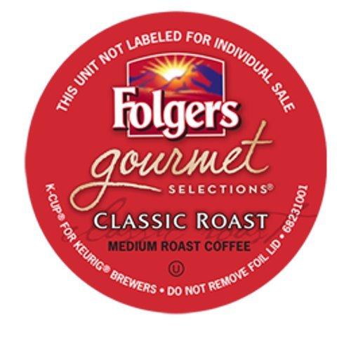 Folgers Gourmet Selections Classic Roast Coffee Keurig K-Cups, 180 Count