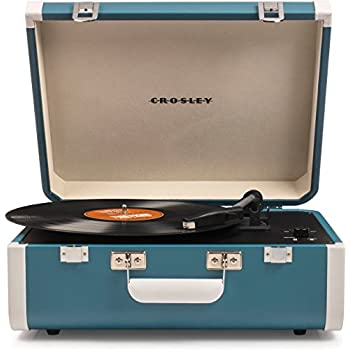 Amazon com: Crosley Cruiser Deluxe Vintage 3-Speed Bluetooth