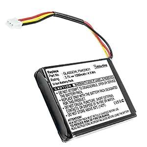 Akku-King 20104341 iones de litio 1350mAh 3.7V batería recargable - Batería/Pila recargable (iones de litio, 1350 mAh, Navegador/computadora móvil de mano/ teléfono móvil, 3,7 V, 5 Wh, Negro, Color blanco)