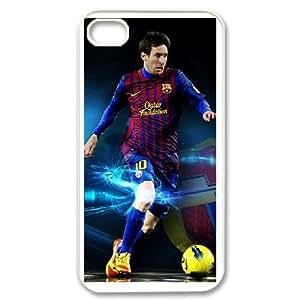 Lionel Messi iphone 4 4s phone Case Maverick Fantasy Funny Terror Tease Magical YHNL797829120 Kimberly Kurzendoerfer