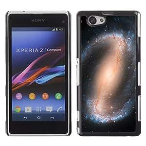 Las ondas planetarias - Metal de aluminio y de plástico duro Caja del teléfono - Negro - Sony Xperia Z3 Compact / Z3 Mini (Not Z3)