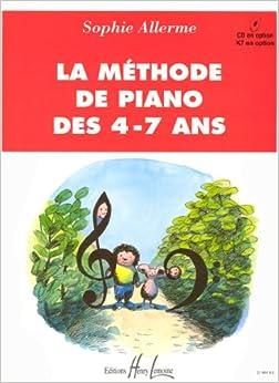 Méthode de piano des 4-7 ans