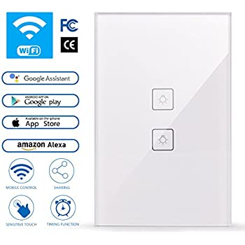 Smart light switch in wall light smartphone remote - Control lights with smartphone ...
