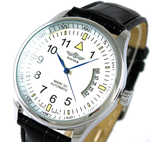 VIGOROSO Leahter Automatic Mechanical Self Wind