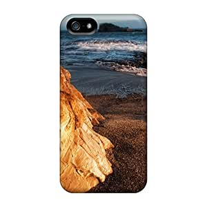Iphone 5/5s Case Cover Surf Batters The Rocky Shore Of Greyhound Rock County Park Case - Eco-friendly Packaging