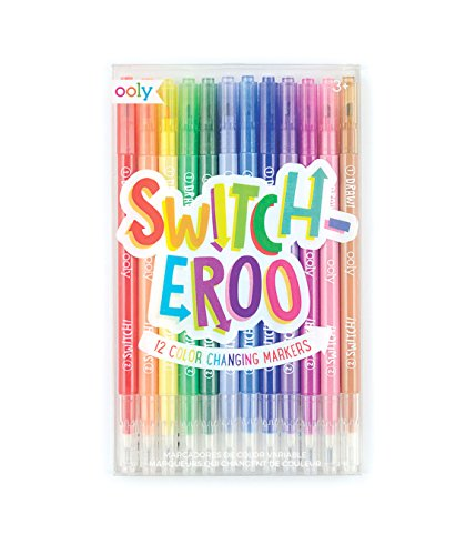 Markers Changing Color (OOLY, Switch-Eroo Color Changing Markers, Set of 12)