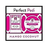 Perfect Pedi Mini Flip Flop Foot Repair & Foot Scrub by PURE Factory - Mango Coconut
