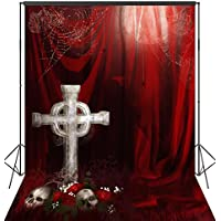 OUYIDA Halloween Theme 6X9FT Pictorial cloth Seamless Customized photography Backdrop Background studio prop TP141