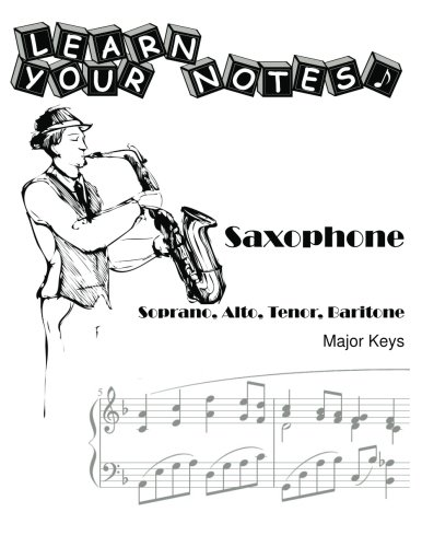 Learn Your Notes - Saxophone: Major Keys