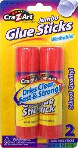 UPC 884920113060, Cra-Z-art Jumbo Washable Glue Sticks, 2-Count (11306N-48)