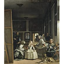 Diego Velázquez - Las Meninas, Size 24x28 inch, Poster art print wall décor