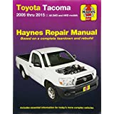 Toyota Tacoma: 2005 thru 2015 All 2WD and 4WD models