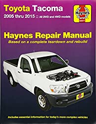 Image of the product Toyota Tacoma: 2005 thru that is listed on the catalogue brand of Haynes Manuals.