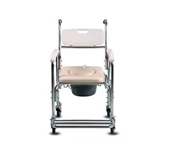 GAOFG Las mujeres embarazadas sillas COMODA correa sillas de ruedas para los ancianos los ancianos la ducha WC silla Silla Con Inodoro: Amazon.es: Deportes ...