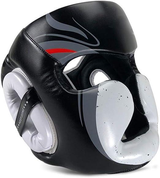 MEISTER GEL FULL-FACE HEAD GUARD MMA Boxing Helmet Training Muay Thai Gear WT