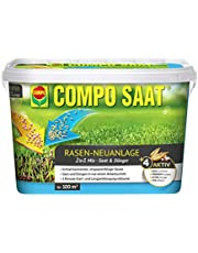 Compo Semillas® & Fertilizante para reparación de césped