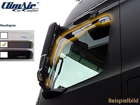 2017 1 Set TYP Z Vordere Windabweiser f/ür die Fahrer und Beifahrerseite-CLI003P0020 kompatibel zu OPEL GRANDLAND X SUV 5-Door