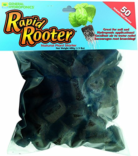 General Hydroponics Rapid Rooter Replacement Plugs 50