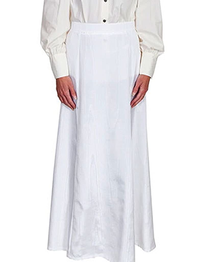1890s-1900s Fashion, Clothing, Costumes Scully Vintage Five Gore Walking Skirt - Natural $76.85 AT vintagedancer.com