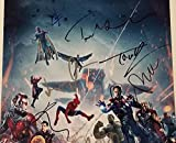 Avengers: Infinity War Cast 15 Autographed Signed 11X17 Movie Poster Beckett Authentic