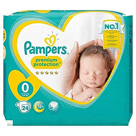 Pampers - New Baby Micro Pañales, talla 0 (1 - 2.5 kg),