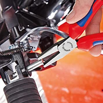 Knipex 20 02 160 SB Flachzange L/änge 220 mm