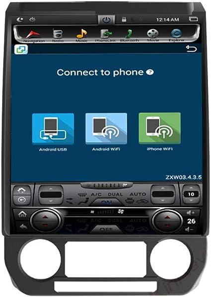 Pantalla Android Vertical Doble Husillo Coches Reproductor Multimedia Para Ford F150 Raptor Soporte 4G / WIFI/GPS/Bluetooth/FM/Control Volante Función (2015-2019): Amazon.es: Coche y moto