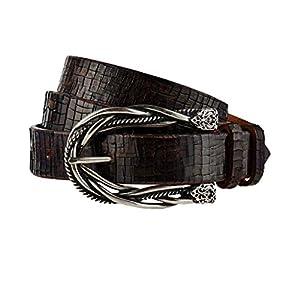 GUT INSTINKT - Cinturón de cuero italiano de lujo artesanal - TATER | DeHippies.com
