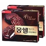 Lotte MongShell TongTong Real Cream Cacao Cake / Korea Chocolate Pie 2 packs