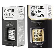 CND Shellac Gel UV Base and Top Coat 7.3ml