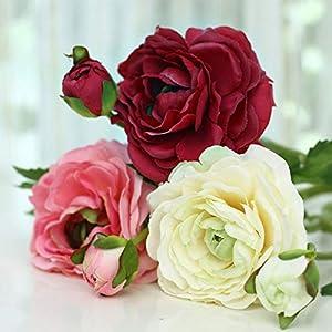 ShineBear (10 Piece/lot Fashion Camellia Artificial Flowers camelias Silk Flower Decoration Flower for Home 108