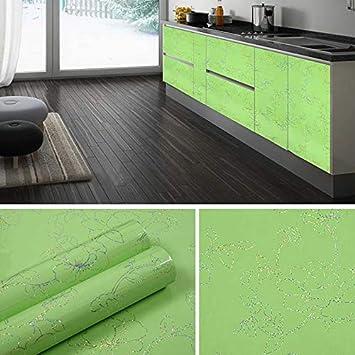 Waterproof Peony Pattern Furniture Refurbished Stickers Wardrobe TV Cabinet  Self Adhesive Wallpaper Roll For Kitchen