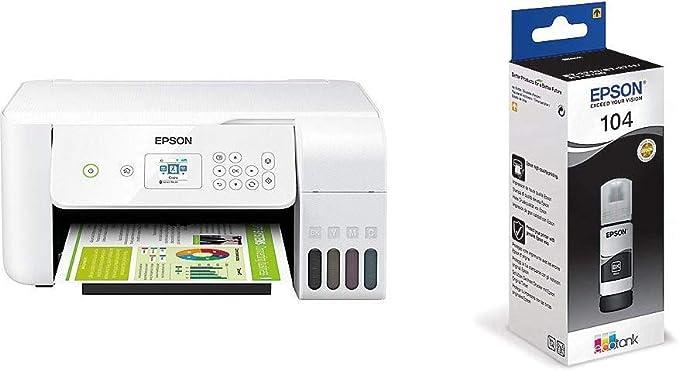Epson Ecotank Et 2726 Nachfüllbares 3 In 1 Tintenstrahl Computer Zubehör