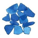 frosted glass gems - Genuine Glass Gems 1lb-Dark Blue