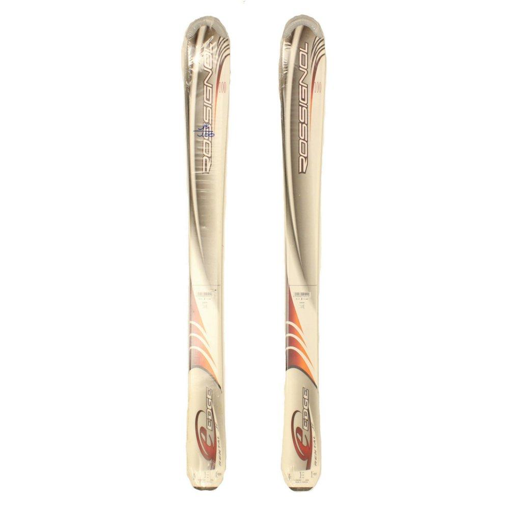 Rossignol Sealed Edge Jr Kids Youth Skis 100cm - 100cm by Rossignol