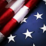 Why choose our brand:  When you are looking for an American flag to buy, you certainly want to make sure the flag you have got is the one can last a long time. We are specialized in providing you with the very best brands, a multitude of materials, c...