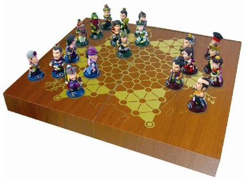 3d Chinese Checkers Set tiao qi三国志Caocao and Liubei