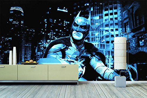 Wandbilderxxl Vlies Fototapete Batman Xcm Hochwertige Tapete In  Verschiedenen Grosen Fur Wohnzimmer Oder Buro Foto Tapete Qualitat Von