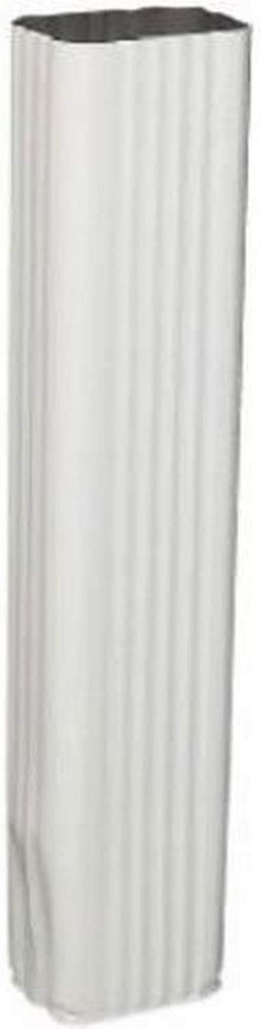 AMERIMAX HOME PRODUCTS 33075 15-Inch Downspout Extension White