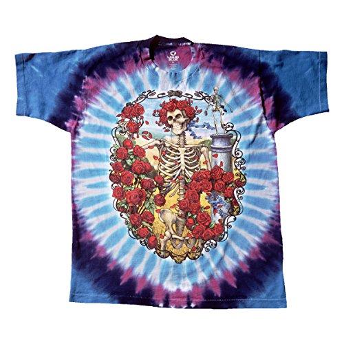 Liquid Blue Men's Grateful Dead 30Th Anniversary Short Sleeve T-Shirt,Multi,XX-Large