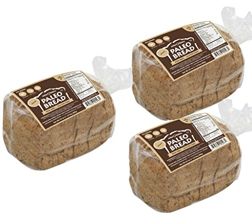 Paleo Bread : Almond (3 Pack) (Low Carb, Keto, Gluten Free, Grain Free) (Low Carb Gluten Free Bread compare prices)