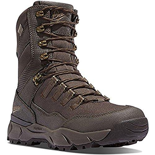 Danner Vital 8'' Brown Hunting Boots | Gore-TEX (GTX) Waterproof Hiking  Leather Boots | Cushioning Molded PU Hunter Modern Battlefield Combat Boot