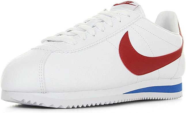 NIKE Classic Cortez Leather, Zapatillas para Mujer: Amazon ...