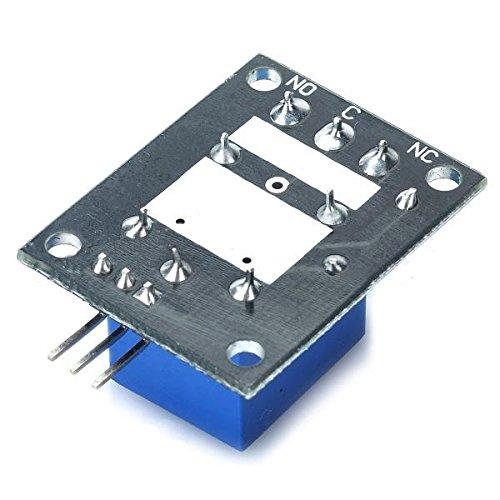 Ils 10 Pi/èces 5V TTL Module de Relais 5-12 Signal 1 Canal de Haut Niveau de la Carte dextension pour Arduino