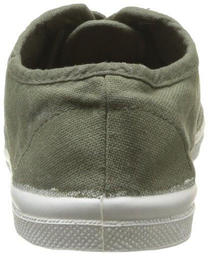 Bensimon Tennis Lacet, Unisex-Kinder Hohe Sneakers Grün (Vert (Kaki 612))