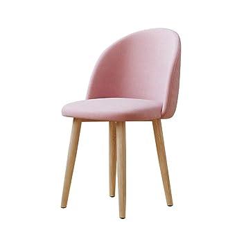 Amazon.com: Silla de comedor, sillas de salón, tapizadas ...