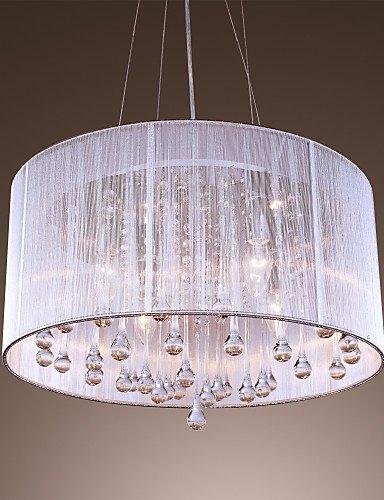 DXZMBDM® Max 40W Zeitgenössisch / Drum Kristall / Inklusive Glühbirne Galvanisierung Metall Pendelleuchten Wohnzimmer / Schlafzimmer / Esszimmer , 220-240v